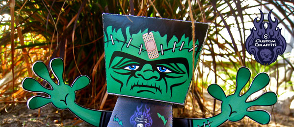 frankenstein_paper_toy