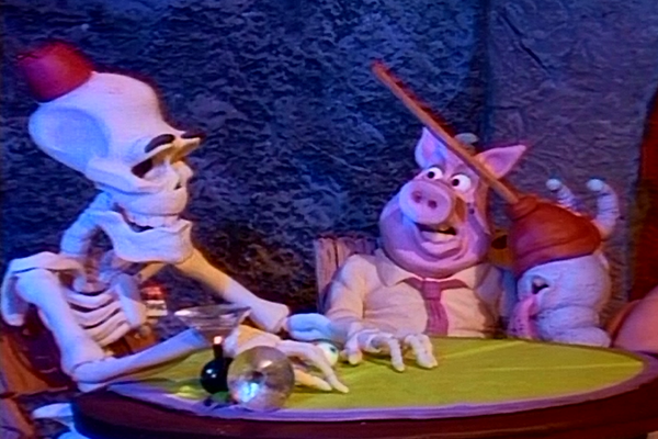 Wilshire Pig and Sheldon Snail from Wil Vinton's Comedy of Horrors – Best Animated Horror Cartoon Characters
