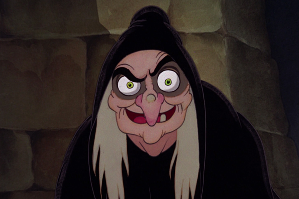 The Evil Witch in Disney's Sleeping Beauty – Best Animated Horror Cartoon Characters