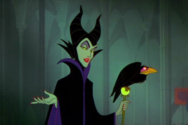 Maleficent created by Marc Davis in Disney's Sleeping Beauty – Best Animated Horror Cartoon Characters